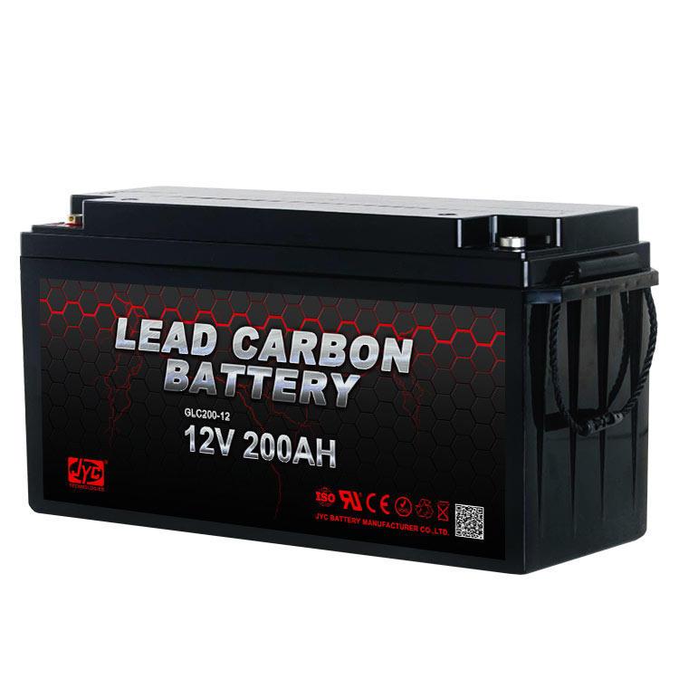 High Quality 12V 200Ah lead carbon battery solar battery 12v 200ah