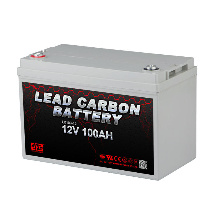 Maintenance Free Sealed Lead Carbon Battery 12V 100ah Battery Solar Energy Storage Systems Uninterruptible Power Supplies