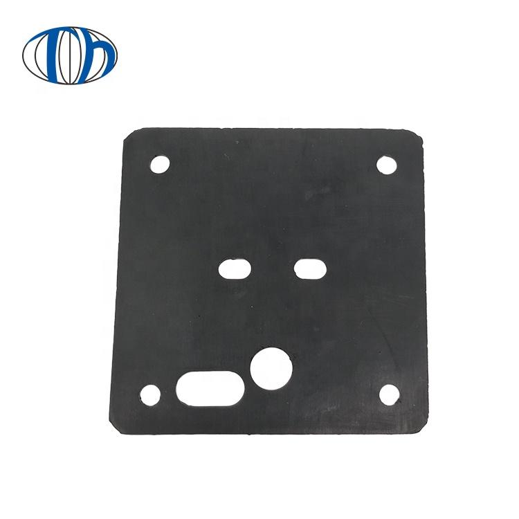 Wholesale hydraulic press square shockproof NR/NBR rubber sealing foot pad