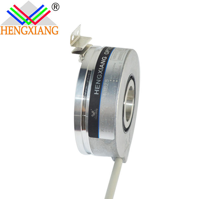 Hengxiang hollow encoder KC76 slotted optical sensor 32768 pulse 32768ppr