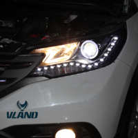 VLAND factory for Car Headlight for CRV LED Head light for 2012 2013 2014 for CRV Head lamp with angel eyes