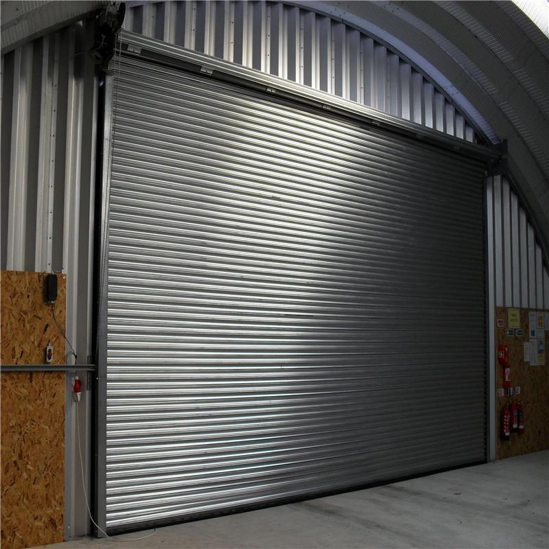 3000mm*3300mm 0.5mm galvanized steel roller shutter doors with motor
