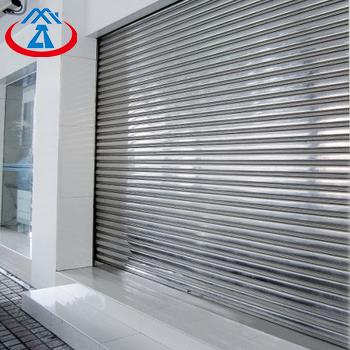 3600*3000 201 Stainless Steel CommercialExterior Roller Shutter Door for Shop