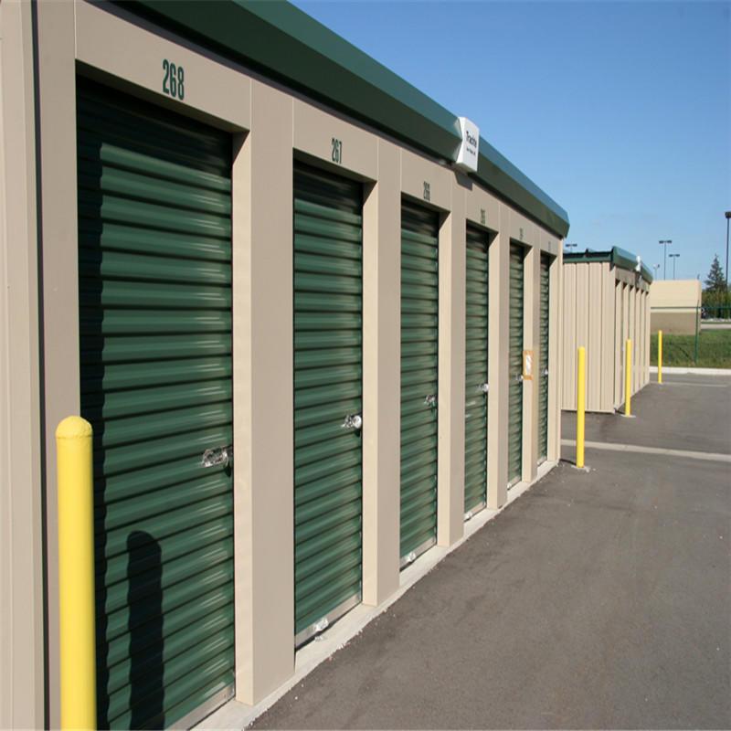 Storage door galvanized steel material self storage door industrial roll up door 8*7 feet
