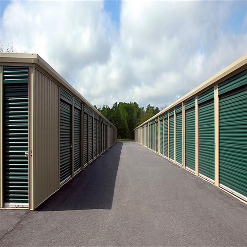 Galvanized steel roll up door 8*6 feet steel roller shutter rolling shutter self storage doors