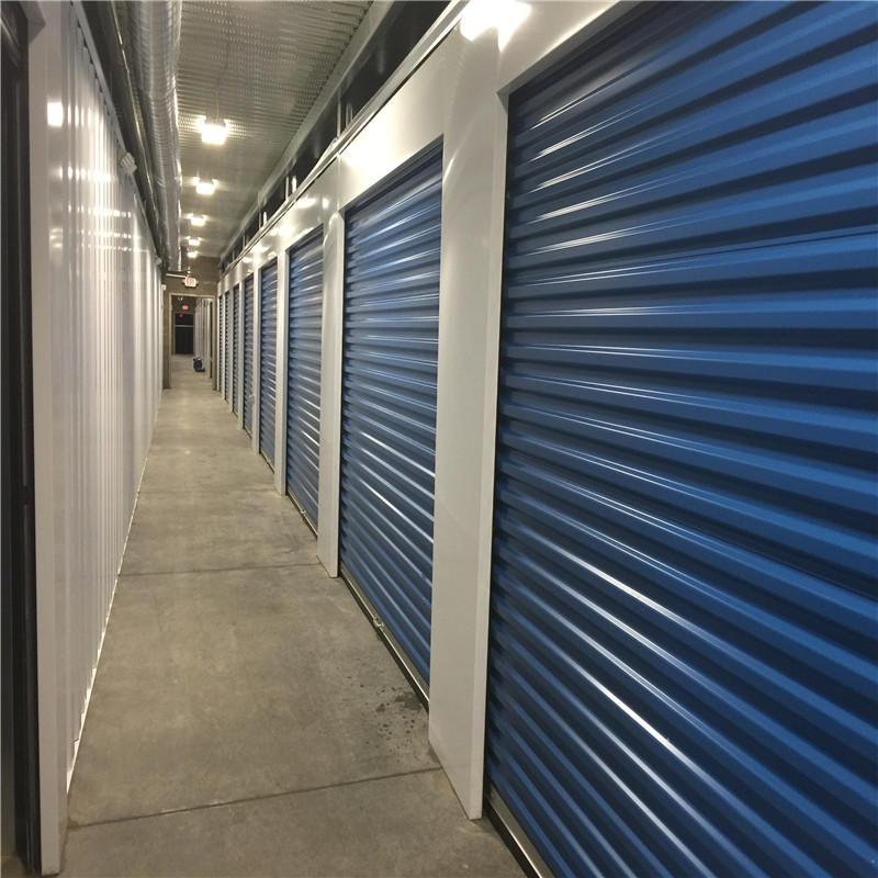 8*7 feet self storage door cold storage door used roll up door
