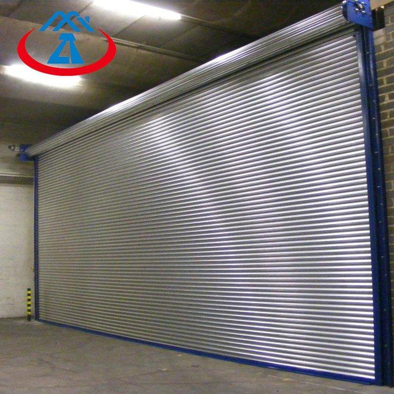 3600*3000 201 Stainless Steel Roller Shutter Door Steel Roller Doors