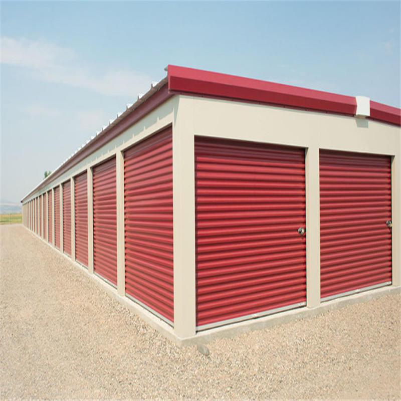 Industrial manual self storage door roll up door 8*7 feet cold storage door