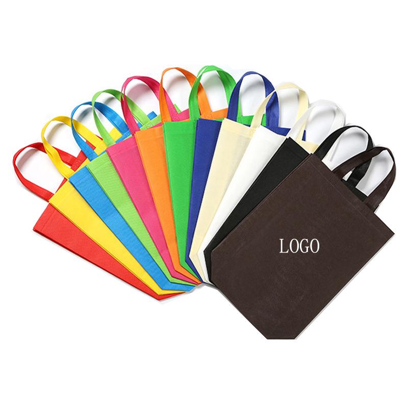 Wholesale Tote Non Woven Bag with Zipper Promotional Shopping Bag Reusable Bag