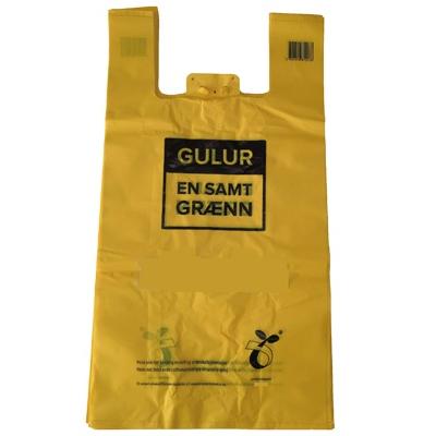 custom 100% biodegradable ecofriendly plastic bags wholesale