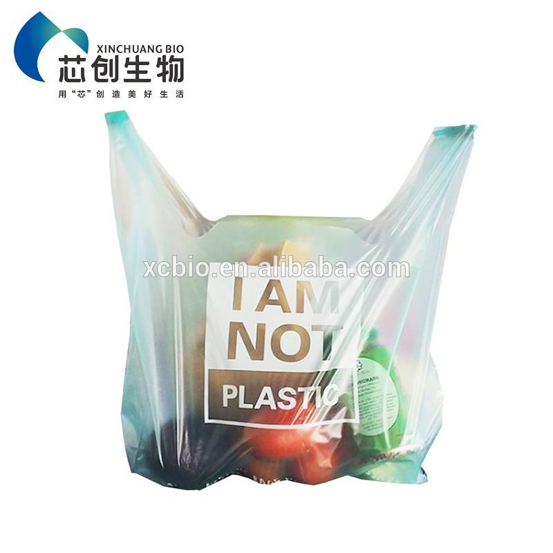 Supply Custom Plastic Black Garbage Bags/Trash Bag/Trash Can Liner Biodegradable
