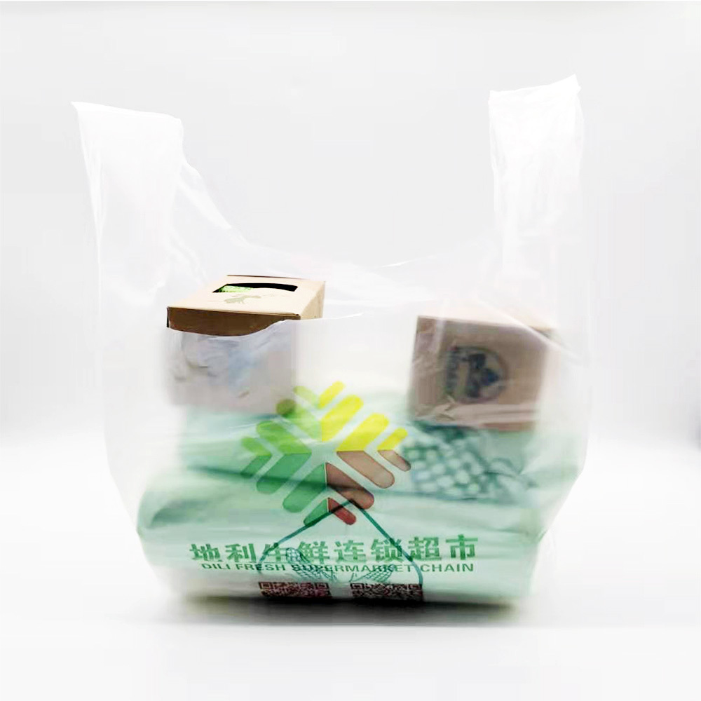 Customized Accept DisposablePLAGarbage Collection Bags Biodegradable Compostable 100% Cornstarch TrashBags
