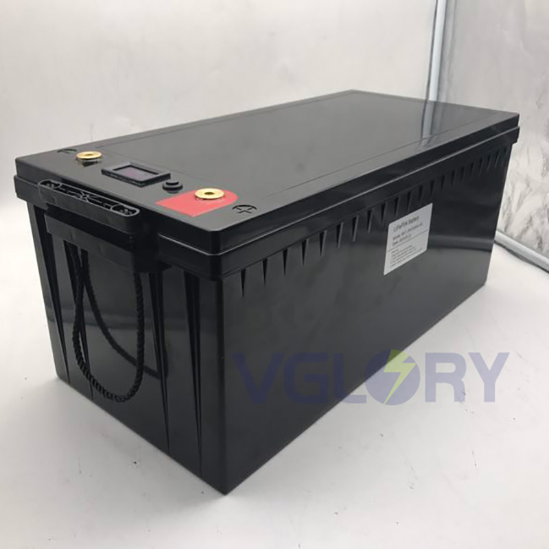 Wide working temperature range 24v 100ah lifepo4 battery pack