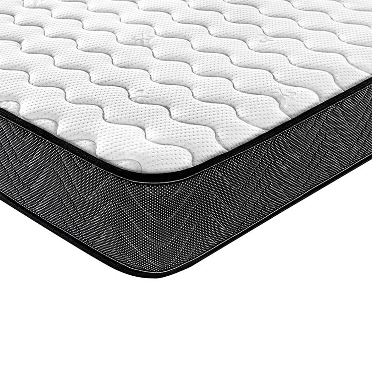 Wholesale 20cm height rolled up spring mattress twin size