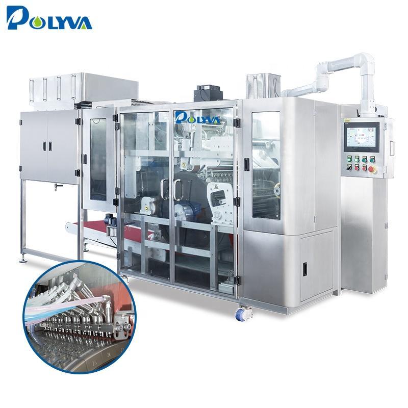Polyva pva film packing machine water soluble film filling packing machine laundry pods filling machine