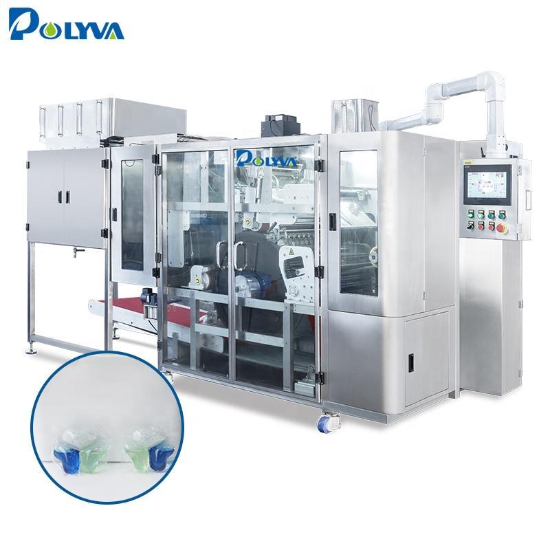 Polyva machine China supplier water soluble pods capsule maker packing machine capsule powder filling machine