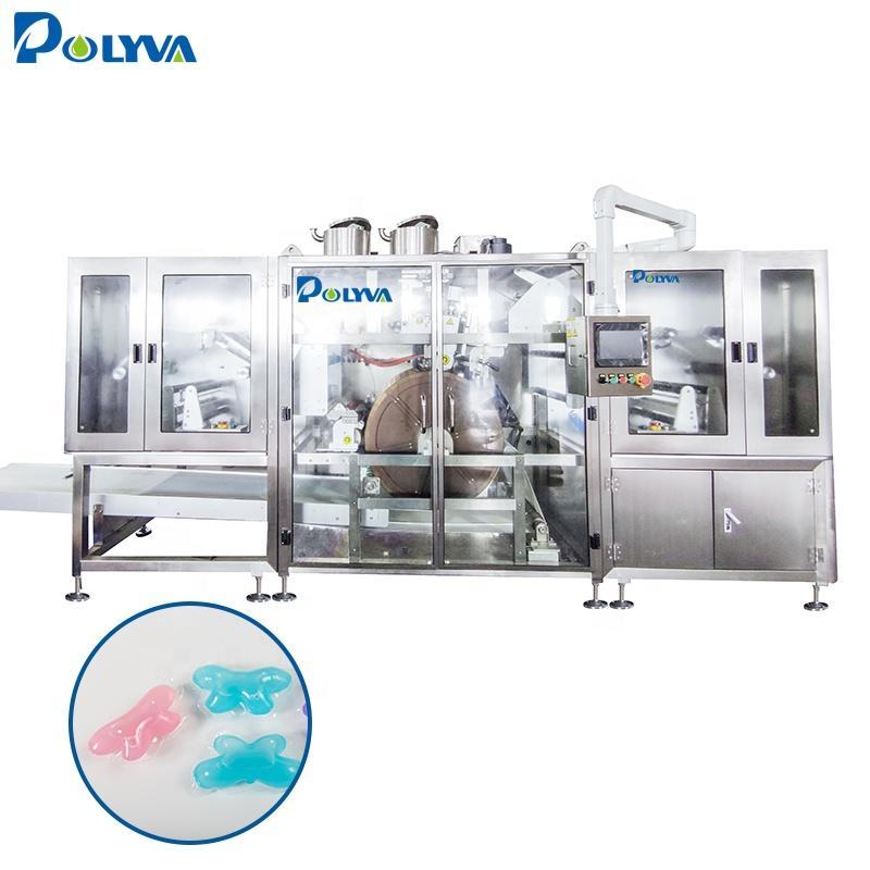 Polyva machine multi-function laundry liquid filling machine in capsules detergent cleaning pods making machine
