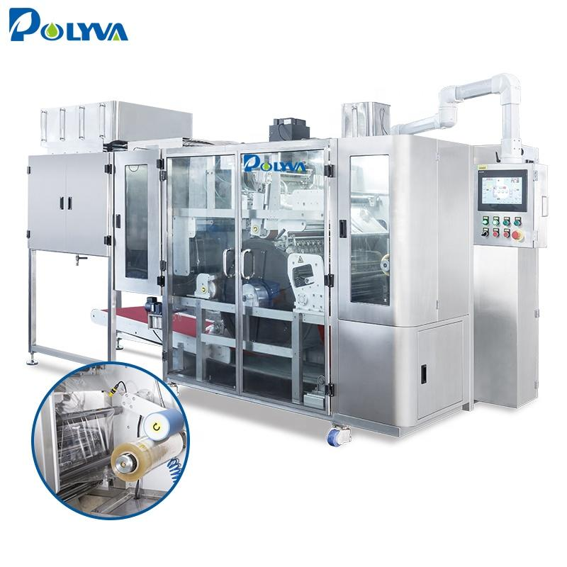 Polyva machine small automatic capsule filling powder laundry pods packing machine automatic machinery