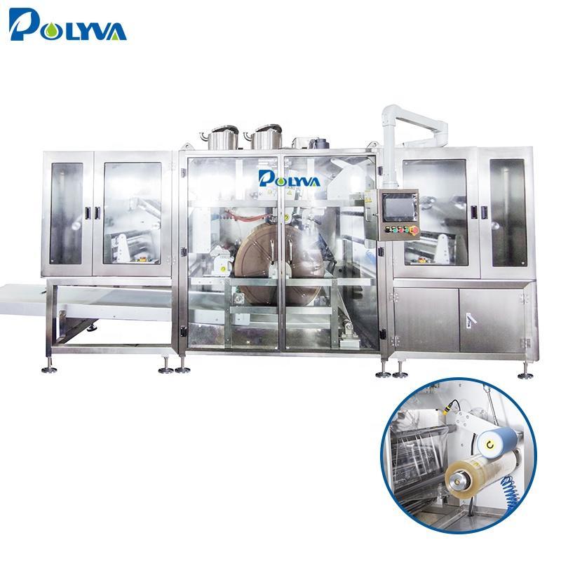 Polyva machine high speed small laundry detergent pod packing packaging machine cheap price packaging machine