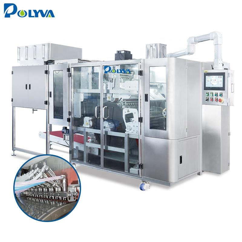 10-30g laundry pod making machine / liquid detergent laundry pod filling machine