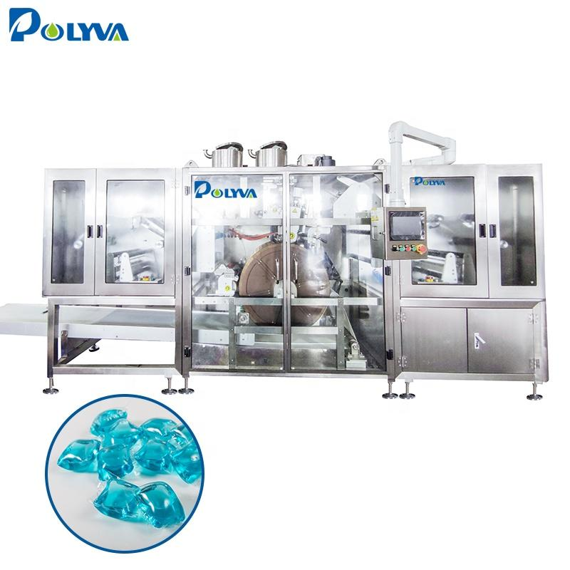 New Laundry pva Detergent Pods/laundry capsules Packaging Machine