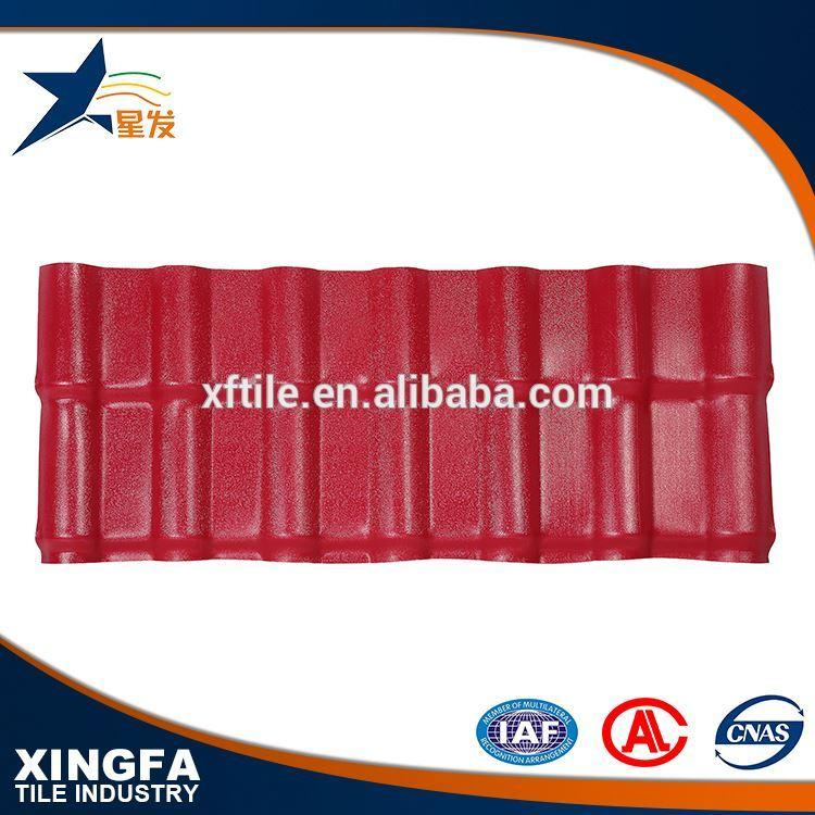 Carport cheapest corrugated synthetic resin roof tiles
