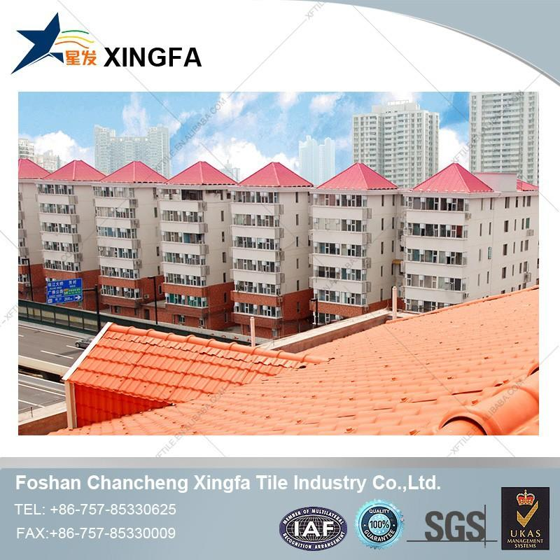 Hot sales concrete interlocking flat clay roof tiles