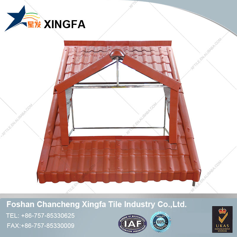 Waterproofing synthetic resin pvc plastic roofing tile prices