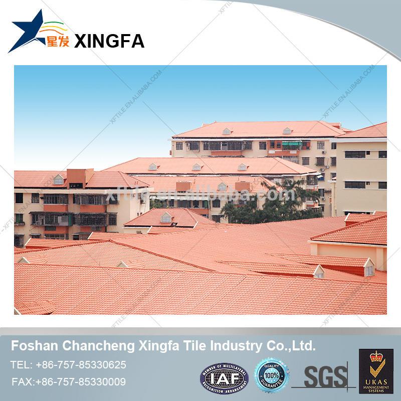 Synthetic resin roofing sheet /ASA spanish roofing tile /ASA pvc plastic roof tile