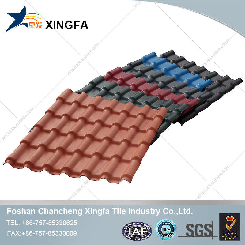 Colorful German synthetic resin roofing tile
