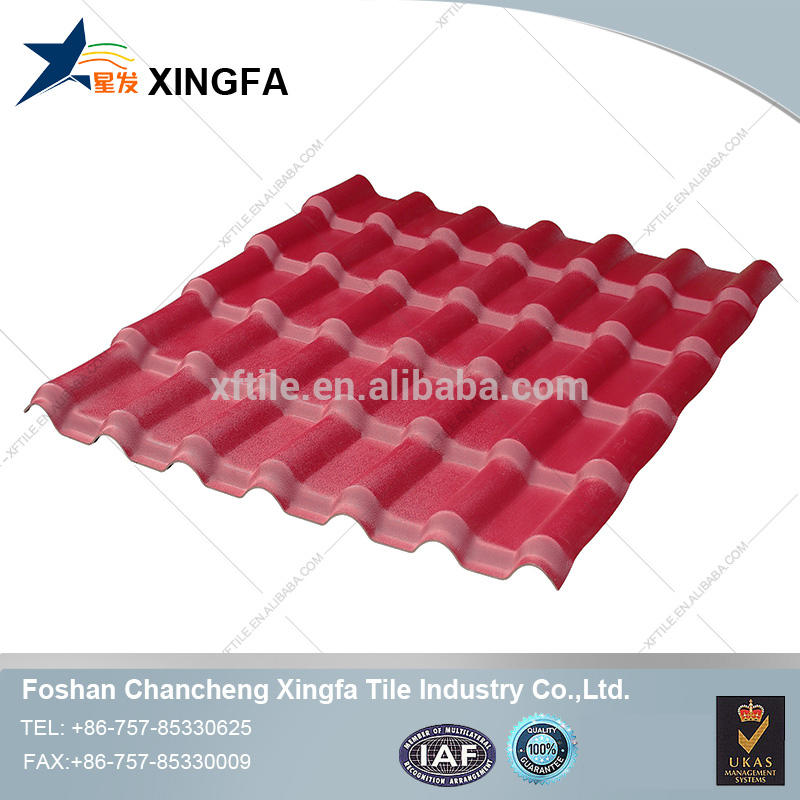 Asa synthetic resin roof tile, spanish style roof tile/roofing