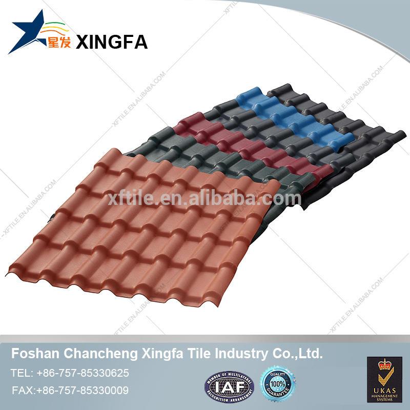 Wholesale various types of tile corrugated carbon fiber asa pvc roof sheet