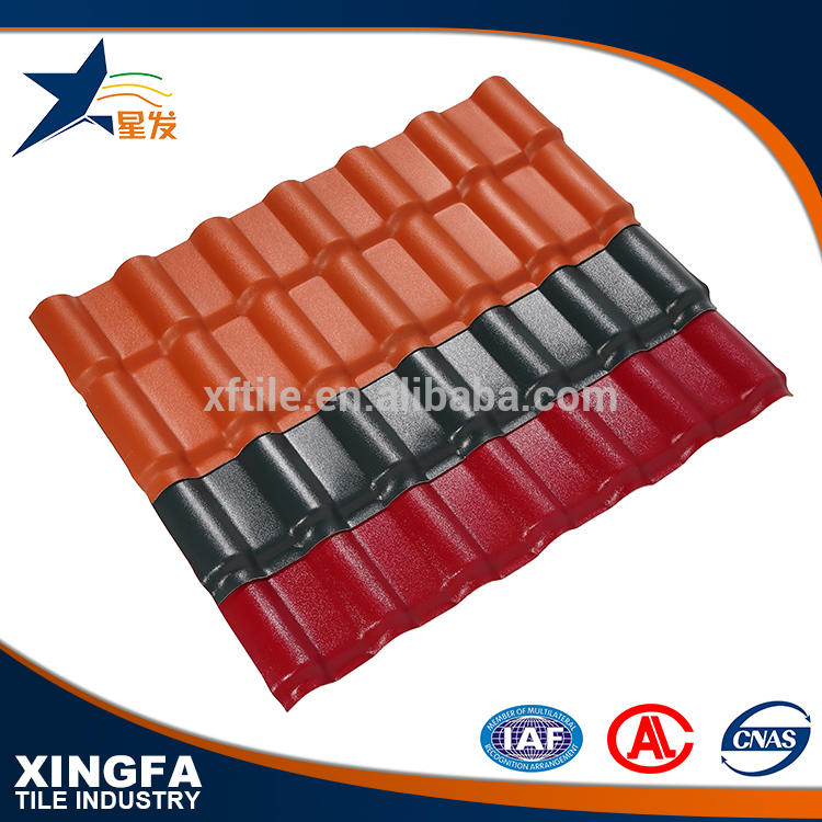 Wholesale building material roof tiles synthetic resin roof tile