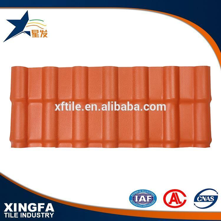 ASAPVC Synethic Resin Roofing sheet spanish 1050
