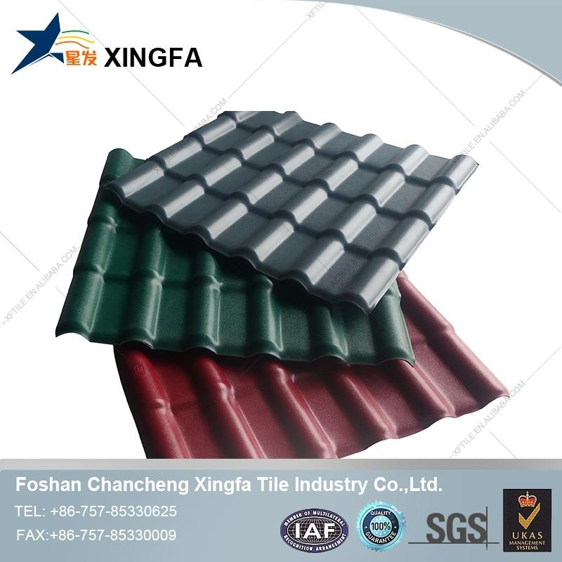 synthetic tile in mexico roofing tile