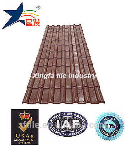 Waterproofing 3mm thick colored plastic roofing sheet for wholesale