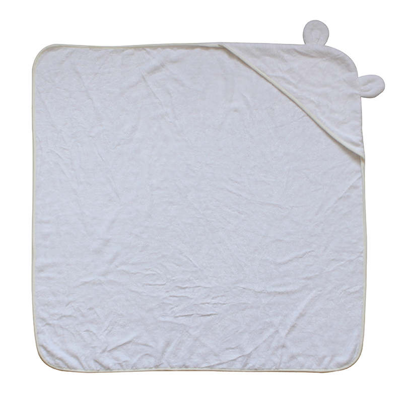 Extra Soft 500gsm Bamboo Hooded Baby Kids Towel with Bear Ear