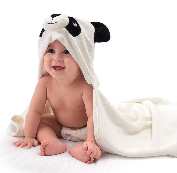 High Quality Baby Organic Bamboo Hooded Towel with Custom Logo baby towel