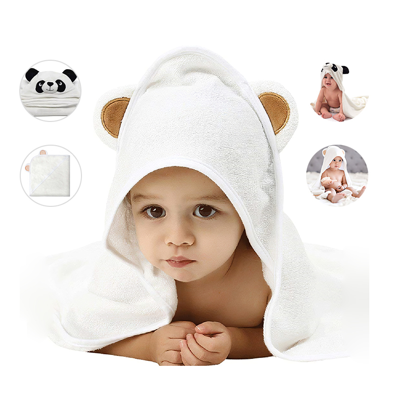 OEM Cheap Price Super Soft Bamboo Baby Hooded Bath Towel