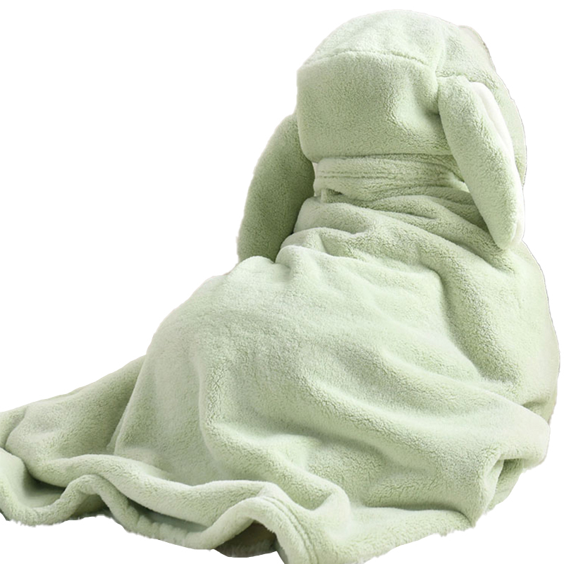 Hooded Baby Towel Factory Price 100% Bamboo Woven Newborn Solid Color with Soft Hand Feeling
