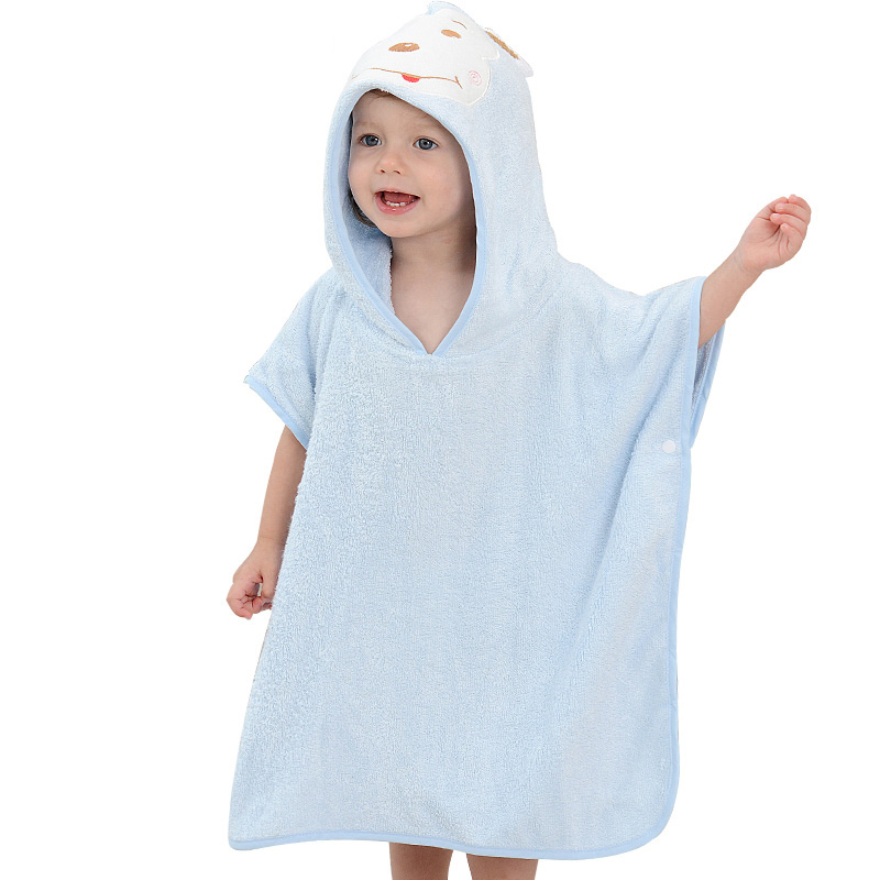 Factory Price Organic Bamboo Hooded Baby Towel with Soft Hand Feeling