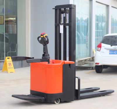 2 Ton Hydraulic Forklift Electric Pallet Stacker with 5m Lifting Height