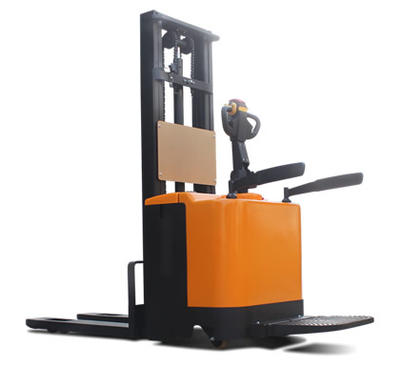 1 year warranty AC driving electric stacking forklift 2T 2ton load electric pallet stacker