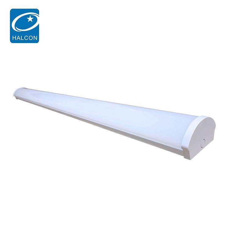 High quality corridor office 2ft 4ft 5ft 6ft 20w 30w 40w 50w 60w 80w linear led batten strip lamp