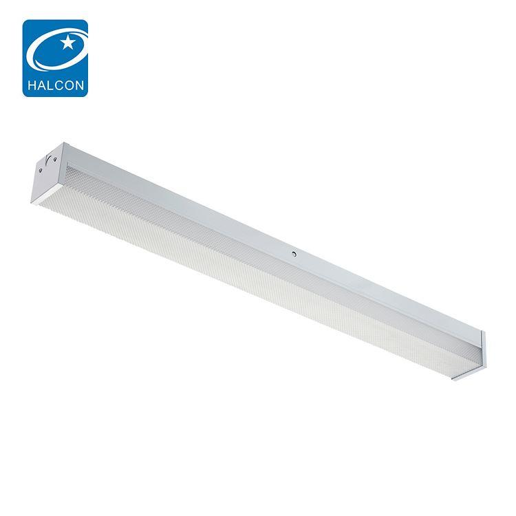 Quality supplier ETL dlc prismatic diffuser surface mounted 2ft 4ft 18w 25w 36w 45w led wrap light