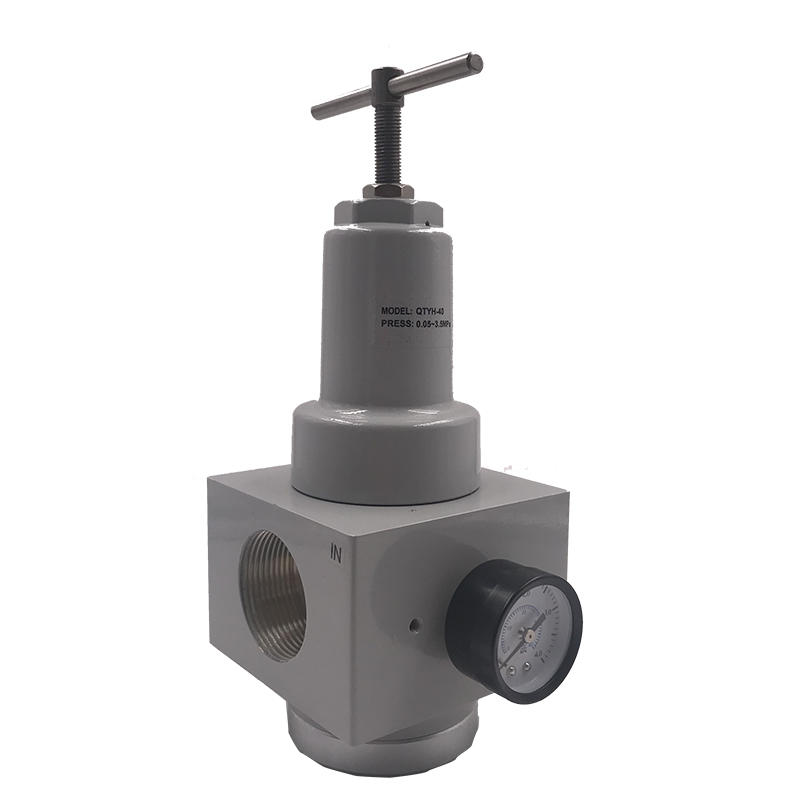 Throttle element QTYH-40 3/2 inchElectromagnetic pressure distribution valve Pressure Relief Valve