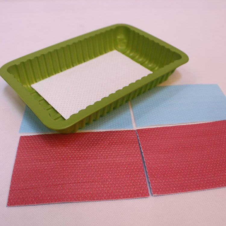Non-toxic Absorbent Food Water Pads For Meat /Fruit Packaging