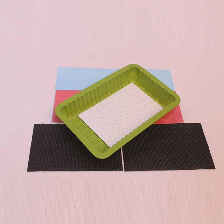 Customized Size Food Grade Fruit Absorbent Pad For Food