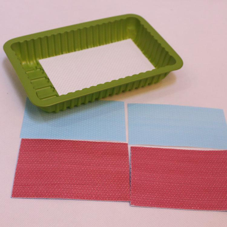High Absorbency Biodegradable Fruit absorbent under pad