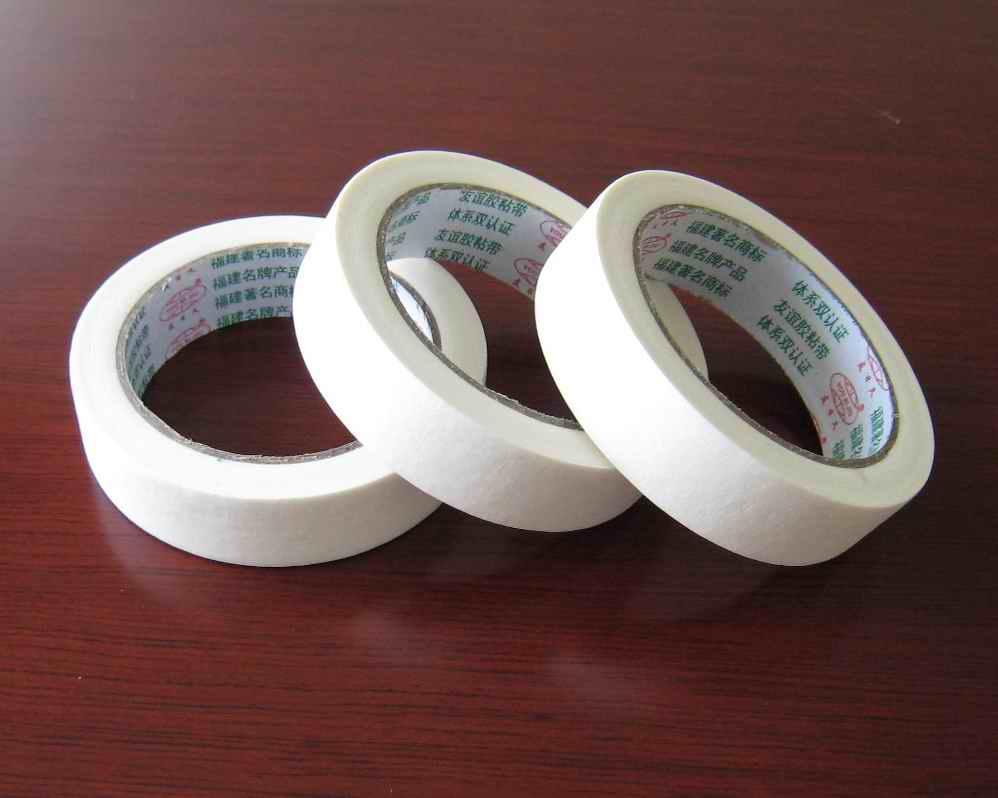 Custom raw material masking tape automotive jumbo roll